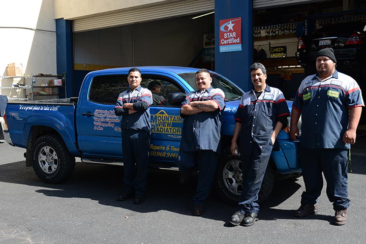 We are an experienced team of mechanics!