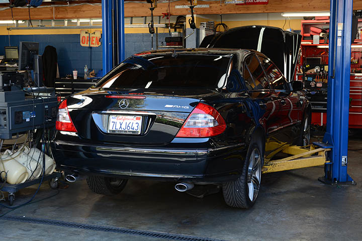We repair all types of Mercedes Benz and other European cars and vehicles