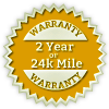 two years or 24k auto warranty